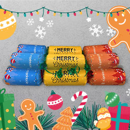 Custom Christmas Crackers