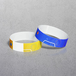 Full Colour Paper Wristbands