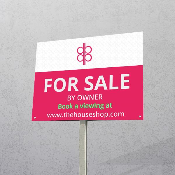 Estate Agent Boards