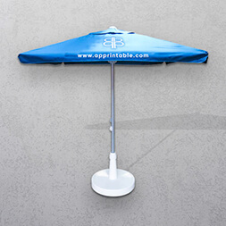 Branded Square Parasols Umbrellas