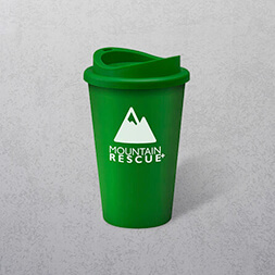 Coloured Travel Cup