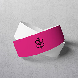 printed paper wristbands same day delivery