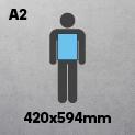 A2 (420 x 594mm)