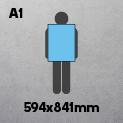 A1 (594 x 841mm)