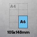 A6 (105x148mm)