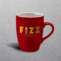 Duo Red Mug