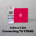 2.6m x 1.2m Connecting TV STAND