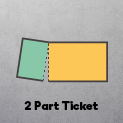 2 Part - 1 Stub & Ticket