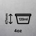 4oz (120ml)