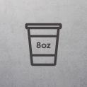 8oz Cup Sleeves