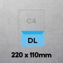 DL (220 x 110mm) Envelope