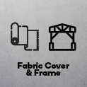 Fabric Cover and Frame
