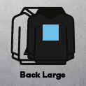 Large Centre Back (30x35cm)