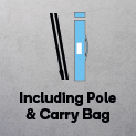 Flag with Pole & Carry bag