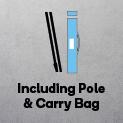 Flag with Pole & Carry bag