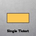 Single ticket - No Stub