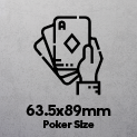 Poker Size Playing Cards (63.5x89mm)