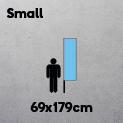Small (69 x 179cm)