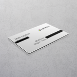 Black Multi-layered Business Cards