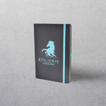 A5 Cyan Notebook with Strap