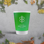 Apprintable Eco-Friendly Biodegradable Paper Cups