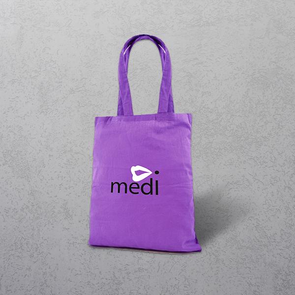 Apprintable Purple Tote Bag
