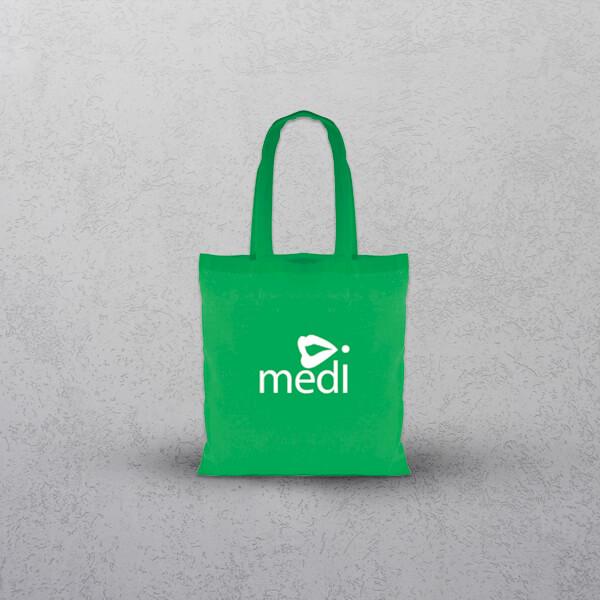 Apprintable Green Tote Bag