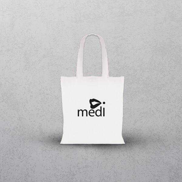 Apprintable White Tote Bag