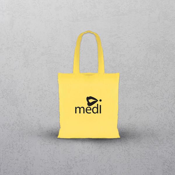 Apprintable Yellow Tote Bag
