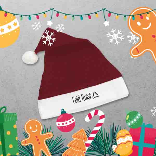 Apprintable Custom Santa Hats