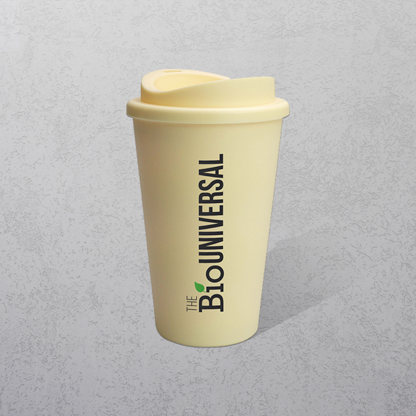 Apprintable Biodegradable Travel Cup
