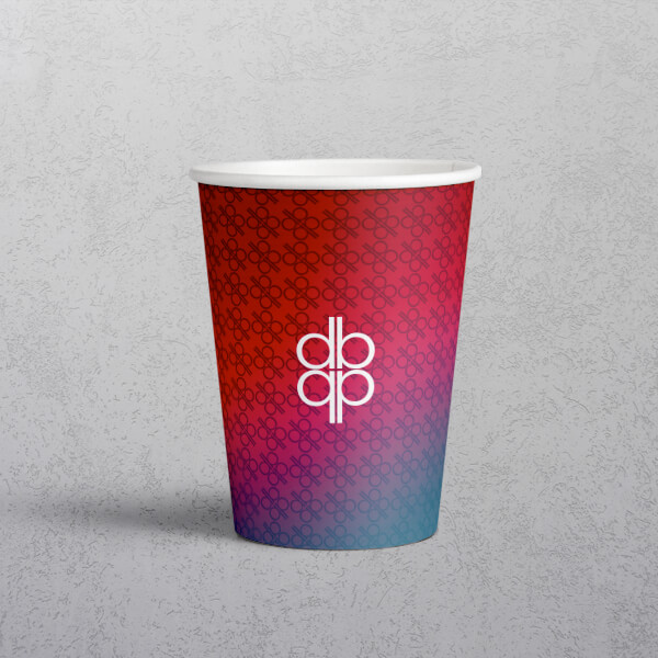 Apprintable Single Wall Paper Cup