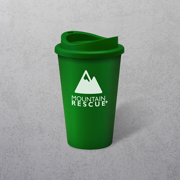 Apprintable Coloured Travel Cup Green