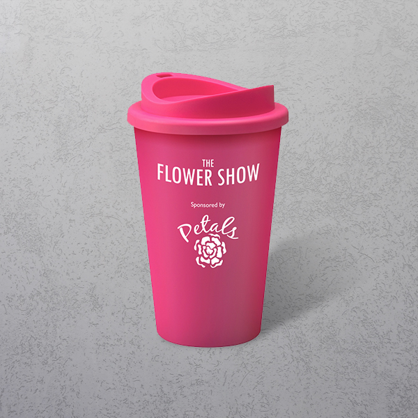 Apprintable Coloured Travel Cup Pink