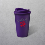 Apprintable Coloured Travel Cup Purple