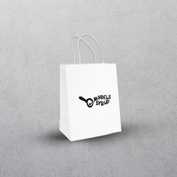 Medium White Paper Bag