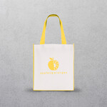 Yellow Large Contrast Shopper