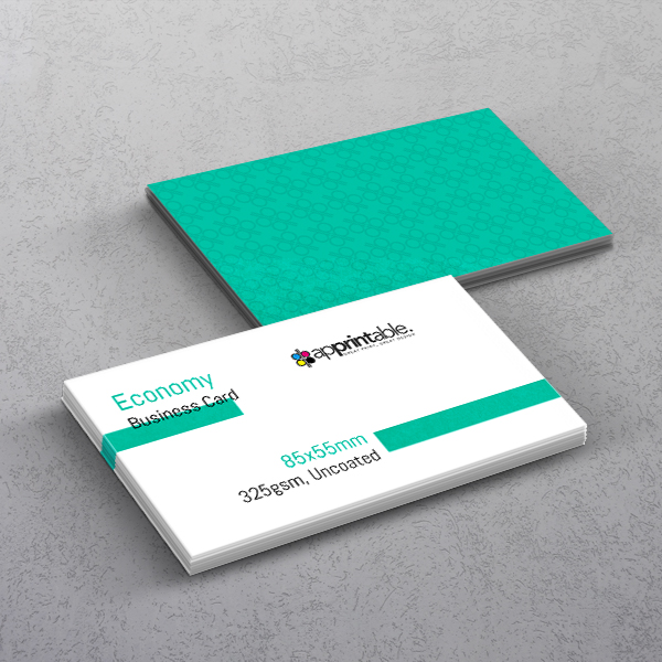Apprintable Uncoated Business Cards