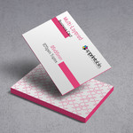 triple thick business cards