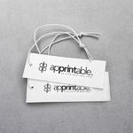 Apprintable Printed Tag