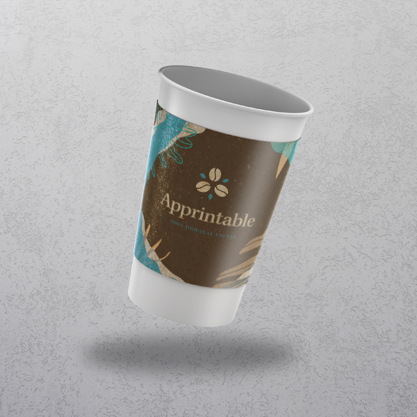 Apprintable Paper Cup Sleeves