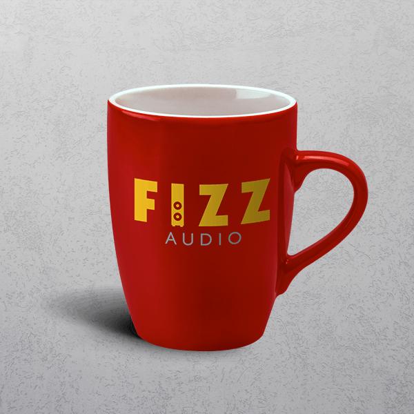 Apprintable Duo Red Premium Mug