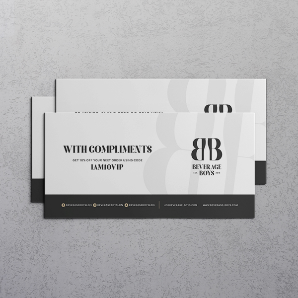 Personalised Compliment Slips