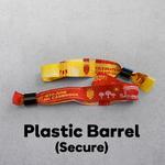 Plastic Barrel - Secure