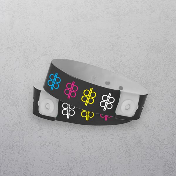 Full colour Vinyl Wristbands
