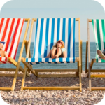 Large deck chair