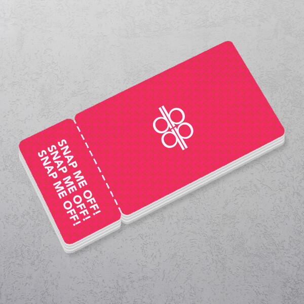 Apprintable 2 Part Plastic Card