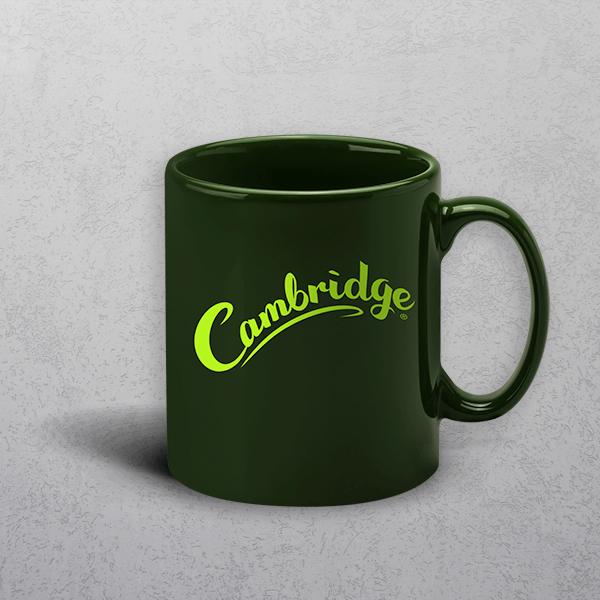Apprintable Racing Green Standard Mug