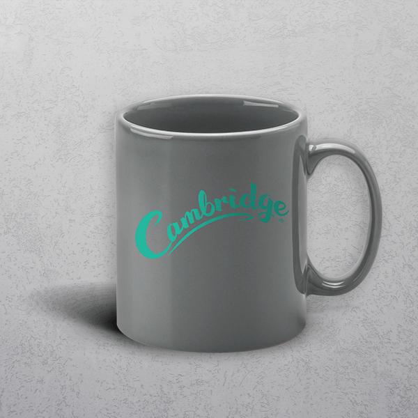 Apprintable Grey Standard Mug