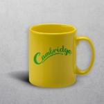 Apprintable Yellow Standard Mug